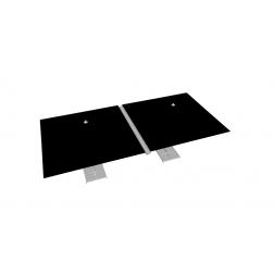 Regengoot PVC 330cm Grijs