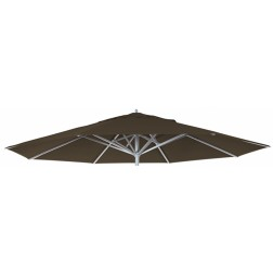 Parasoldoek Presto Taupe (400cm rond)